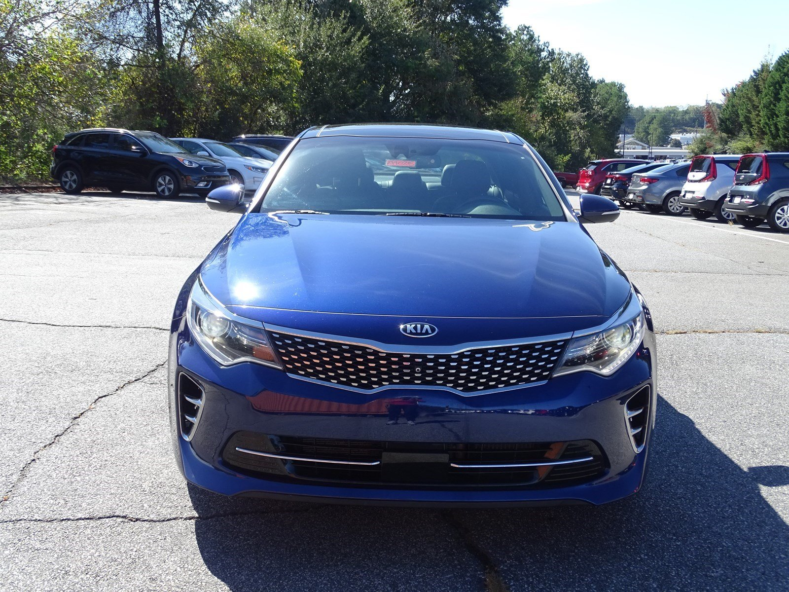 Ed Voyles Kia >> Pre-Owned 2016 Kia Optima SXL Turbo 4dr Car in Smyrna ...