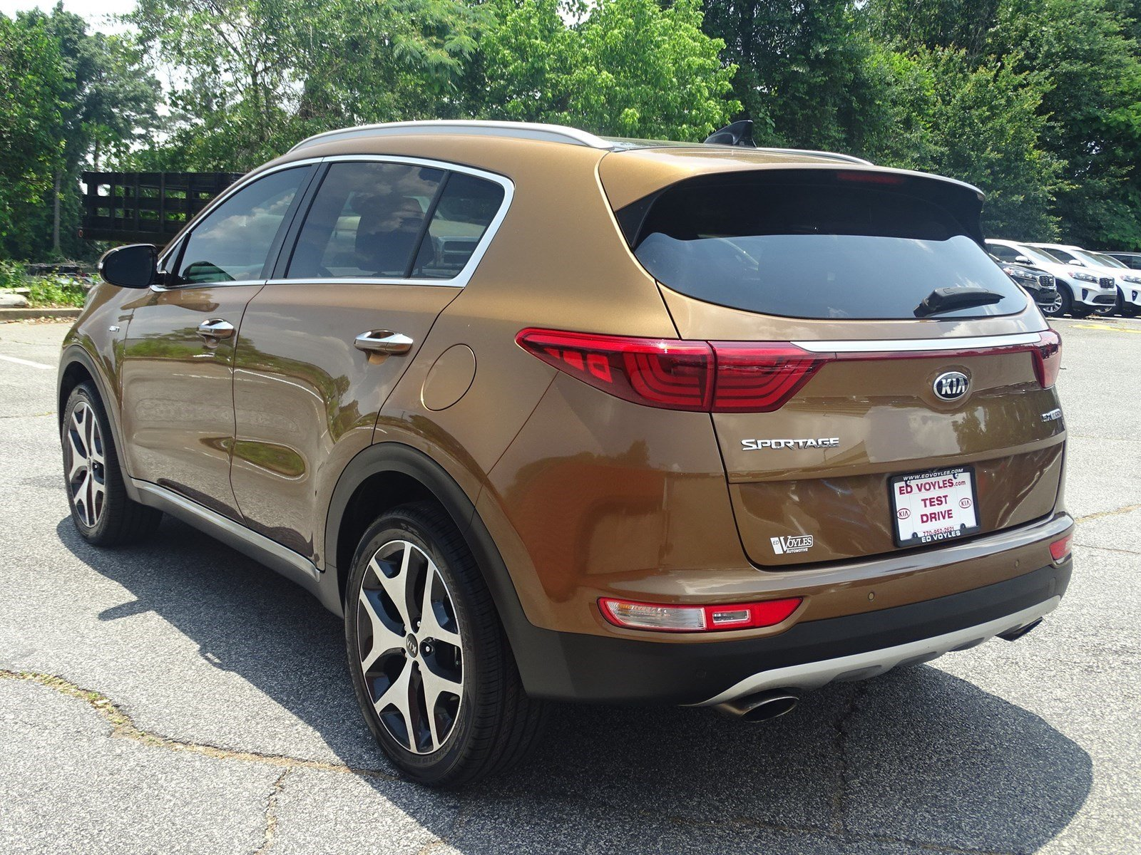 Certified Pre-Owned 2017 Kia Sportage SX Turbo